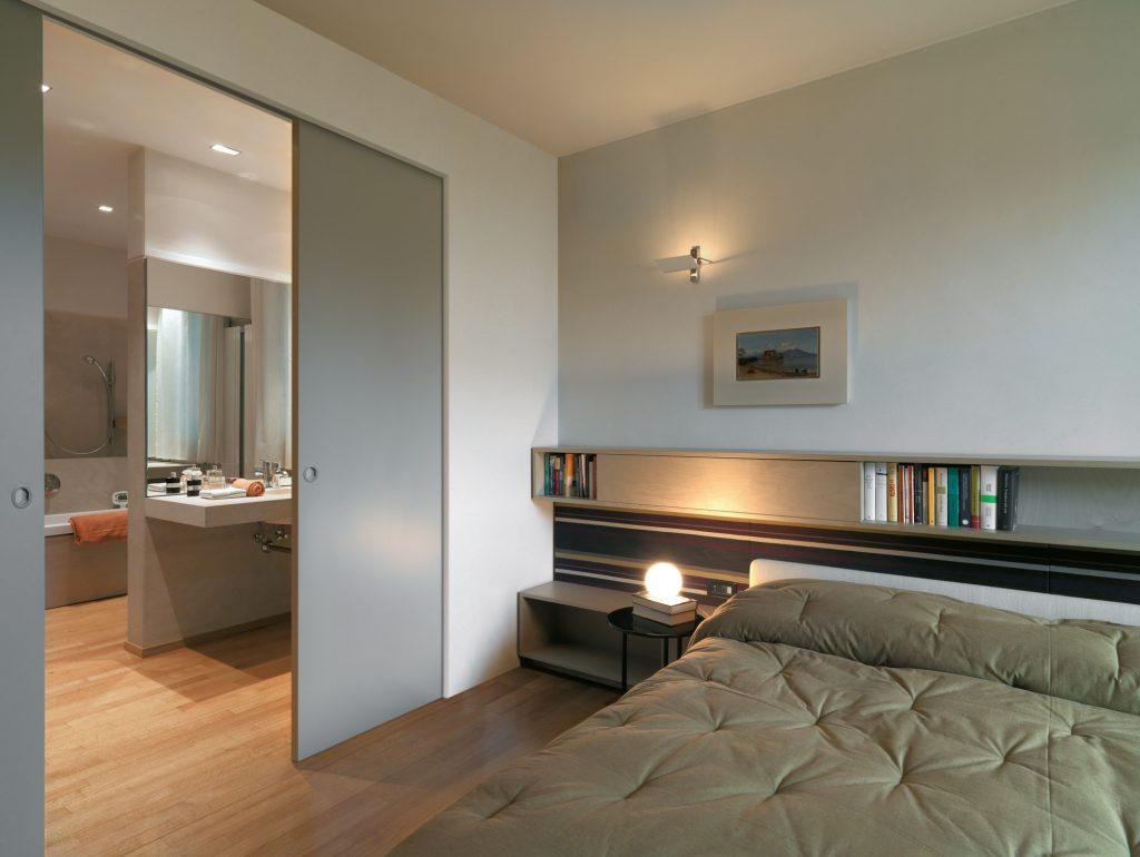 camera da letto con bagno attiguo